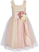 Chantilly Place Big Girls 7-12 Brocade Ballerina Dress