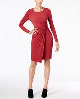 Catherine Malandrino Catherine Adele Faux-Wrap Sheath Dress