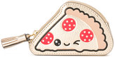 Anya Hindmarch metallic keychain purse