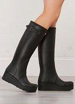 Hunter Boots Women's Original Low Wedge Rain Boot