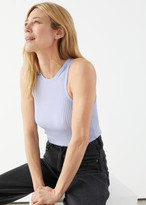 And other stories Fitted Ribbed Tank Top