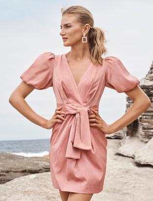 Ever New Ellie Jacquard Mini Dress