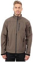 Roper Solid Taupe Soft Shell Jacket