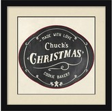 Personalized Framed Bakery Canvas