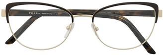 Prada Vintage Style Cat-Eye Optical Glasses