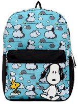 Snoopy Peanuts 16 in the Clouds Kids Backpack - Blue