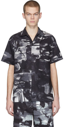 Moschino Black and White Poplin Shirt