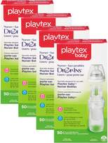 Playtex Nurser Drop-Ins Expand Bottle Liners, 50 ct (Pack of 4)