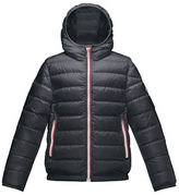 Moncler Athenes Hooded Down Jacket, Size 8-14