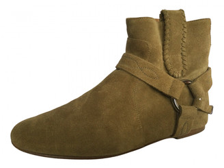 Etoile Isabel Marant Beige Suede Ankle boots