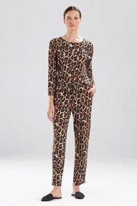 Natori Ombre Leopard Pants