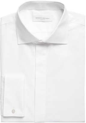 Banana Republic Slim-Fit Non-Iron Tuxedo Dress Shirt