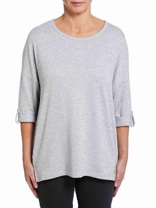 M&Co VIZ-A-VIZ grey t-shirt