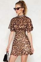 Nasty Gal Feline This Leopard Dress