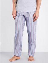 Hanro Evan striped cotton pyjama bottoms