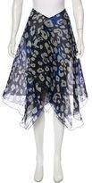 Giorgio Armani Sheer Silk Skirt