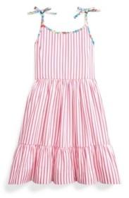 Polo Ralph Lauren Toddler Girls Striped Dress