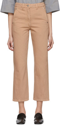Lemaire SSENSE Exclusive Pink Twisted Jeans