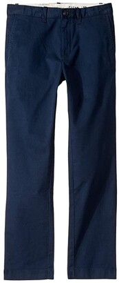 J.Crew Crewcuts By crewcuts by Slim Stretch Regular Weight Chino (Toddler/Little Kids/Big Kids) (Navy) Boy's Casual Pants