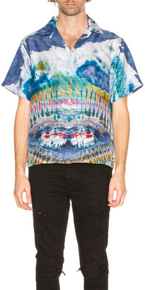 Amiri Tie Dye Shirt in Multi-Color | FWRD