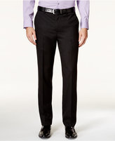 Alfani Men's Slim-Fit Black Iridescent Pants, Only at Macy's