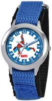 Marvel Kid's Spider-Man Stainless Steel Time Teacher Watch - Blue Strap