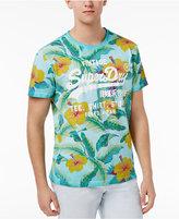 Superdry Men's Surf Store Floral Graphic-Print Logo Cotton T-Shirt
