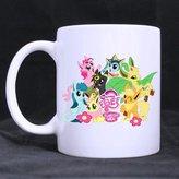 Custom Mugs Pokemon Cute Eevee Custom Personalized Coffee Mugs Beer Mug Ceramic Water Cups Office Home Cup 11 OZ Two Sides Printed