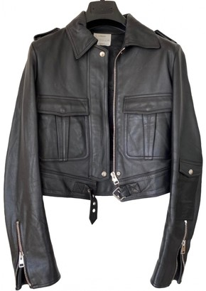 J.W.Anderson Black Leather Jackets