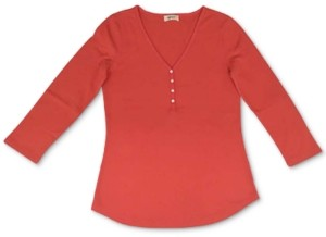 Style&Co. Style & Co Petite V-Neck Top, Created for Macy's