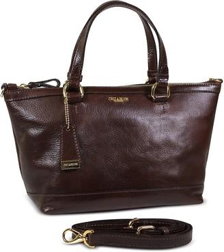 Chiarugi Genuine Leather Medium Tote Bag