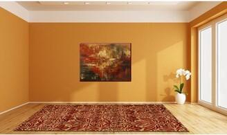 Soraya Astoria Grand Hand-Tufted Wool Red Area Rug Astoria Grand Rug Size: Rectangle 5' x 8'