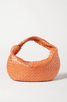 Bottega Veneta Jodie Small Knotted Intrecciato Leather Tote - Light brown