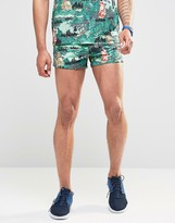Hype Retro Shorts In Print