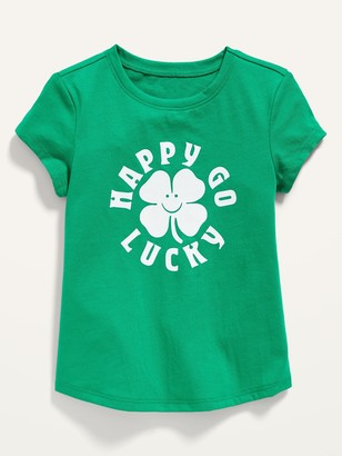 Old Navy St. Patrick's Day Graphic Tee for Toddler Girls