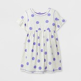 Cat & Jack Toddler Girls' A Line Dresses - Cat & Jack White