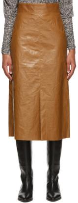 Isabel Marant Beige Domiae Skirt