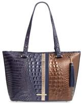 Brahmin Andesite Orba Medium Asher Leather Tote - Blue