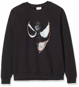 Marvel Girl's Universe Venom Split Face Sweatshirt