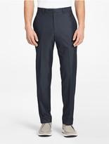 Calvin Klein Classic Fit Blue Suit Pants