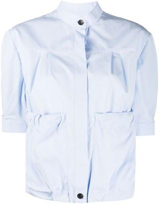 Salvatore Ferragamo Puffed Sleeves Shirt
