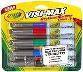 Crayola 8 Ct Dry Erase Markers Visimax BL
