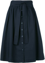 Woolrich pleated full skirt - women - Cotton - S