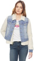 Juicy Couture Denim Jacket With Sherpa