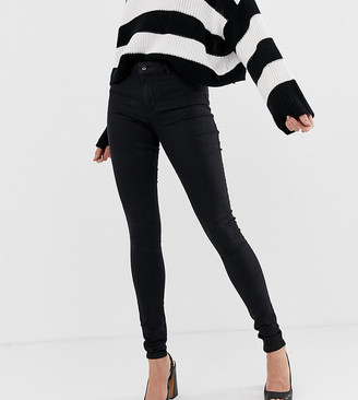 Vero Moda Tall skinny jean in black