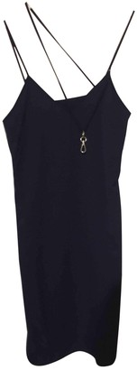 Maison Margiela Navy Synthetic Dresses