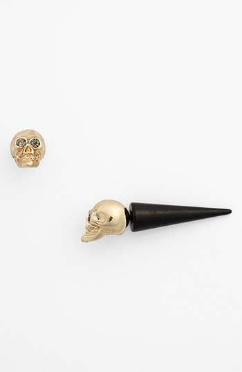 Nordstrom Metal Haven by Kendall & Kylie Skull Earrings (Juniors Exclusive)