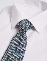 Marks and Spencer Pure Silk Parrot Print Tie
