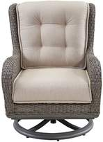 Paula Deen Dogwood Swivel Lounge Chair with Cushions (Set of 2 Home Fabric: Cast Ash