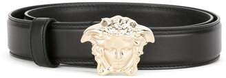 Versace Medusa-buckle belt